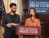 نادية مراد من واشنطن: أشارك بجائزة نوبل مع جميع ضحايا داعش والعنف الجنسى
