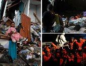 صور.. العالم هذا الصباح.. ارتفاع حصيلة ضحايا زلزال هايتى إلى 14 شخصا.. الإندونيسيون يبحثون عن ذكرياتهم الضائعة وسط المنازل المنهارة من الزلزال وتسونامى.. وصول 120 مهاجرا إلى مالطا بعد إنقاذهم فى البحر المتوسط