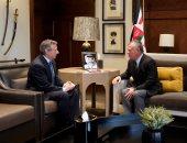 الملك عبد الله الثانى يستقبل طارق عادل سفير مصر لدى الأردن لتوديعه