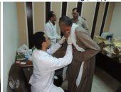 الداخلية توجه قوافل طبية لعلاج المرضى فى أطفيح بالجيزة