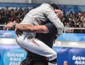 يحدث فى الأوليمبياد.. شاهد فرحة مازن العربى بعد تحقيق أول ميدالية لمصر