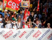 صور.. متقاعدو فرنسا يطلقون احتجاجات على خطط ماكرون الاقتصادية