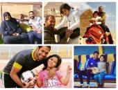 قصة صور.. شاهد الجانب العائلى فى حياة قيصر الإسماعيلية