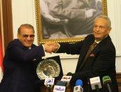 صور.. بدء تكريم حسن راتب رئيس مجلس أمناء جامعة سيناء بحزب الوفد..وأبو شقة: قامة وطنية
