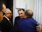 فيديو وصور.. حسن راتب: الرئيس السيسي رجل ساقته الأقدار لمصر لينقذها من الفوضى