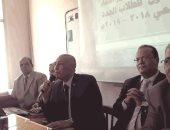 عميد آداب المنوفية يشهد اللقاء التعريفى الأول بقسم اللغة العربية
