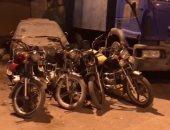 رفع 12 سيارة ودراجة بخارية متروكة فى حملات مرورية بالجيزة