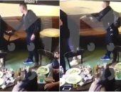 لاعب منتخب روسيا يثير الجدل بضرب مسئول فى مقهى.. صور