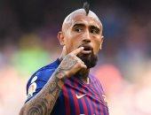 أخبار برشلونة اليوم عن خيبة أمل فيدال منذ انتقاله من بايرن ميونخ