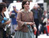 """شاهد.. اللقطات الأولى للنجمة ايما واتسون فى فيلمها الجديد """"Little Women"""""""