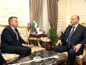 محافظ القاهرة يستقبل سفير السويد لبحث التعاون