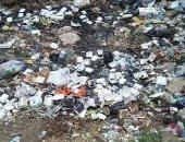 صور.. شكوى من انتشار القمامة فى ترعة زغلولة بالدقهلية