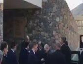 شاهد.. وصول الرئيس السيسي إلى جزيرة كريت للمشاركة فى القمة الثلاثية