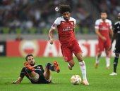 محمد الننى خارج قائمة مباراة أرسنال ضد كريستال بالاس