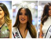 """بالصور.. ملكات جمال مصر للكون 2018 في جولاتهن بـ""""اليوم السابع"""""""