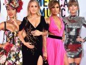 صور.. الإطلالات الأفضل والأسوأ فى حفل American Music Awards