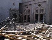 إصابة 4 عمال فى انهيار سقف مسجد بالدقهلية