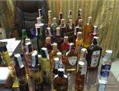 القبض على صاحب محل وبحوزته 120 زجاجة خمور مجهولة المصدر فى المرج