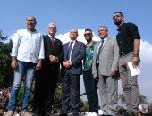 صور.. نائب رئيس جامعة عين شمس يفتتح حفل كلية التجارة ومياة غازية للطلاب