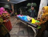 صور.. مصرع 3 أشخاص إثر زلزال ضرب جزيرتى بالى وجاوة فى إندونيسيا