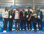الجمباز المصرى يحصد فضية وبرونزية فى أولمبياد الشباب