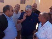 فيديو وصور ..خالد لطيف والثعلب وزاهر  يدعمون شوبير فى الانتخابات التكميلية للجبلاية