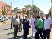 محافظ الأقصر يقود جولة لمتابعة رفع كفاءة شارع خالد بن الوليد