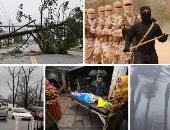 """صور.. العالم هذا الصباح.. الإعصار """"مايكل"""" يضرب ولاية فلوريدا الأمريكية.. مصرع 3 أشخاص إثر زلزال ضرب جزيرتى بالى وجاوة فى إندونيسيا.. عشرات القتلى فى هجوم لتنظيم داعش ضد """"سوريا الديمقراطية"""" شرقى دير الزور"""