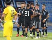 الأرجنتين تتقدم على العراق 1 - 0 فى الشوط الأول بالدورة الرباعية الودية