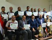 رئيس شركة الدلتا لبنجر السكر يكرم الفائزين بكأس بطولة الجمهورية للشركات
