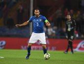 مدافع يوفنتوس سابع أكثر لاعب مشاركة مع المنتخب الإيطالي تاريخيا