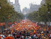 صور.. عروض عسكرية وجوية فى احتفالات إسبانيا بالعيد القومى