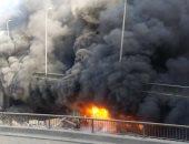 القبض على سائق لإشعاله النار فى 80 دراجة نارية داخل جراج بالقليوبية