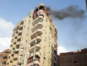 النيابة تنتقل لمعاينة حريق شقة فى المعصرة وتنتدب المعمل الجنائى