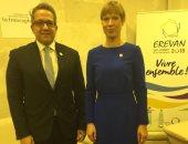 وزير الآثار يستعرض اهتمام مصر بالشباب والمرأة خلال لقائه رئيسة جمهورية استونيا