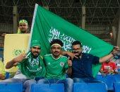 جماهير السعودية تحتشد بملعب الملك سعود قبل مواجهة البرازيل.. صور