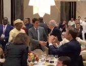شاهد ماكرون ورئيس وزراء كندا وزعماء العالم يرقصون فى القمة الفرانكوفونية