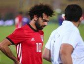 محمد صلاح يخوض اليوم أول مران مع المنتخب استعدادًا لتونس