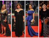 نجوم الفن يتألقون فى حفل توزيع جوائز السينما العربية