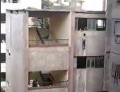 فيديو.. محاولات ناجحة لإنقاذ طالب من الموت المحقق بأحد مدارس الجيزة