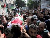 تشيع جثمان صبى فلسطينى قتلته قوات الاحتلال الاسرائيلى فى غزة