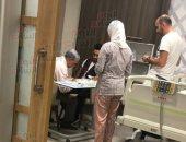 """اليوم السابع"""" ينشر أول صورة للفنان تامر حسنى فى المستشفى"""