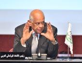 صور.. رئيس مجلس النواب يشارك فى الاجتماع التشاورى للمجموعة العربية