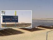 """صور.. سيوة منورة بالطاقة الشمسية.. """"شعب الإمارات"""" أكبر محطة خلايا شمسية فى شمال إفريقيا لتوفر احتياجات الواحة من الكهرباء.. وسعيد خليل: تنتج 10 ميجاوات وتوفر وقود محطات توليد الكهرباء"""