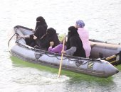 صور.. 50 امرأة سعودية يخضن تدريبات إنقاذ فى البحر والبر والمرتفعات