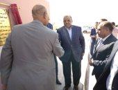 صور..وزير التنمية المحلية يفتتح 8 مشروعات خدمية بالوادى الجديد بـ17 مليون جنيه