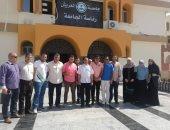 افتتاح مقر جمعية أعضاء هيئة التدريس بجامعة العريش
