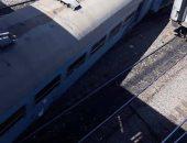 خروج قطار عن مساره أثناء التخزين بمحطة أسوان دون إصابات