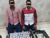 ضبط ٣ تجار مخدرات بحوزتهم ٣٥٠ لفافه هيروين وأسلحه نارية بالغربية