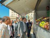 """صور.. محافظ الإسكندريه يطلق مبادرة """"الإسكندرية تستاهل"""" لمواجهة غلاء الأسعار"""